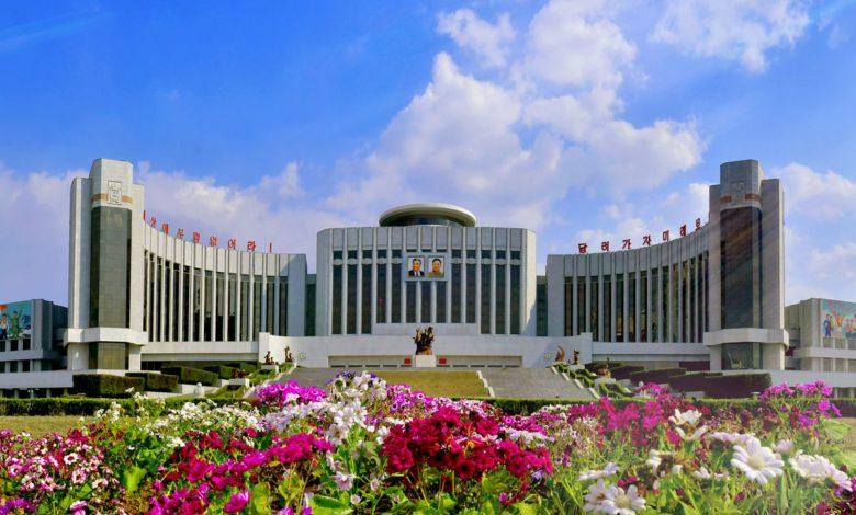 Mangyongdae Schoolchildren's Palace, a comprehensive base for extracurricular activities of schoolchildren